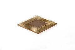 JEDNOSTKA CENTRALNA Komputerowa procesor jednostka na białym tle Obrazy Royalty Free