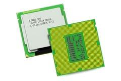 JEDNOSTKA CENTRALNA procesoru komputerowa jednostka Zdjęcia Stock