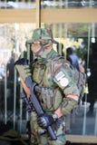 Jednostka specjalna żołnierz Obraz Stock