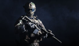 Jednostka specjalna żołnierz Obraz Royalty Free