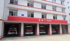 Jednostka straży pożarnej Fotografia Royalty Free