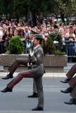 Jednostka ćwiczy z broniami Obraz Stock