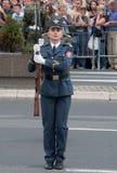 Jednostka ćwiczy z weapons-3 Obraz Stock