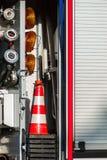 Jednostki straży pożarnej wyposażenie Obraz Stock