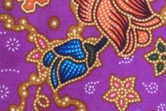 Jedwab jedwabniczej tkaniny dzianiny wzoru tekstury deseniowy Tajlandzki bezszwowy tło Fotografia Stock