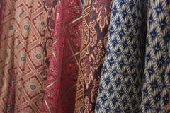 Jedwab Tajlandzki Fotografia Royalty Free