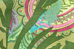 jedwabiu deseniowy retro styl Zdjęcie Royalty Free