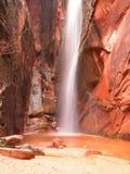 jedwabna wodospadu Zdjęcia Royalty Free