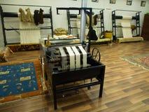 Jedwabnicza dywanowa fabryka Obrazy Royalty Free