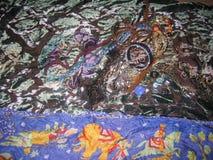 jedwabnicza szalik tkanina zdjęcia royalty free