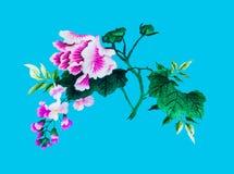 Jedwabniczy kwiatu szyć Zdjęcia Stock