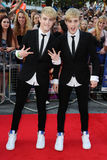 Jedward. Arriving for the premiere of 'Keith Lemon: The Film' at the Vue Cinema, Leicester Square, London. 21/08/2012. Picture by: Steve Vas / Featureflash stock photography