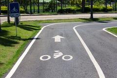 Jedyny rower Zdjęcie Royalty Free
