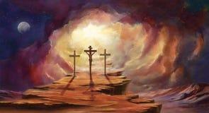 Jedyny sposób niebo cieki serc miłości ścieżki kształtowali ilustracji