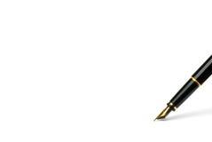 jedynym długopis. Obrazy Stock