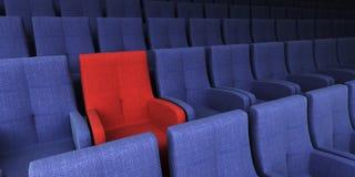 jedynym siedzenia Fotografia Royalty Free