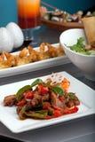 jedzenia świeżo przygotowany tajlandzki fotografia royalty free
