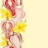 jedzenia bezszwowy deseniowy Zdjęcie Stock