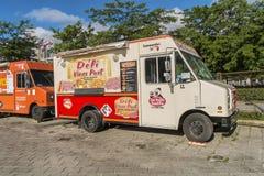 Jedzenia Déli Vieux ciężarowy port Obraz Stock