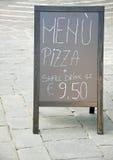 Jedzenia i napoju menu Zdjęcie Royalty Free