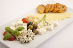 Jedzenia półkowy appeteizer Fotografia Royalty Free