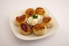 Jedzenia półkowy appeteizer Obrazy Royalty Free