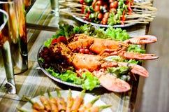 Jedzenia przyjęcie Zdjęcie Royalty Free