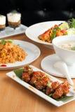 jedzenia tajlandzcy Obraz Royalty Free