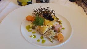 Jedzenia teraźniejszy świetnie łomotać obrazy royalty free