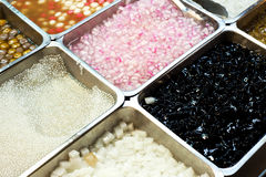 jedzenia zamrażają ogolonego Zdjęcie Royalty Free