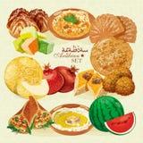 jedzenie arabskiego Zdjęcie Royalty Free