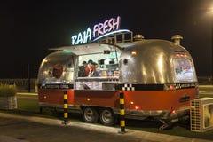 Jedzenie ciężarówka w Dubaj Obraz Royalty Free