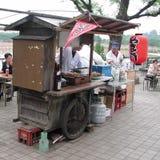 Jedzenie ciężarówka w Japonia Zdjęcia Royalty Free