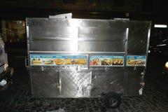 Jedzenie ciężarówka w Miasto Nowy Jork obraz royalty free