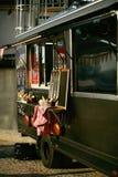 Jedzenie Ciężarowa przyczepa Na ulicie obraz royalty free