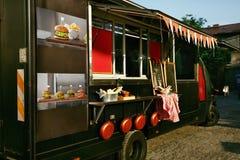 Jedzenie Ciężarowa przyczepa Na ulicie zdjęcia stock