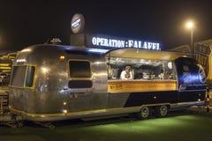 Jedzenie ciężarówka w Dubaj Zdjęcie Stock