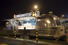 Jedzenie ciężarówka w Dubaj Fotografia Royalty Free