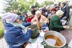 Jedzenie dla biedy Zdjęcia Stock