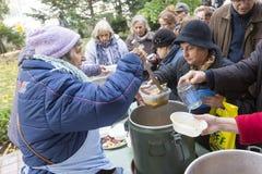 Jedzenie dla biedy Zdjęcie Royalty Free