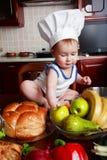 jedzenie dla dzieci Fotografia Royalty Free