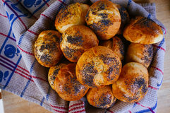 Jedzenie Dla Foodies serii - Parmezański Buns-4 Fotografia Royalty Free