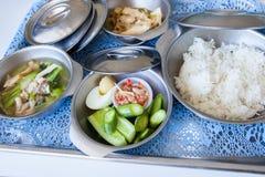 Jedzenie dla pacjentów szpitala Fotografia Royalty Free