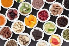Jedzenie dla Zimnego remedium zdjęcia royalty free