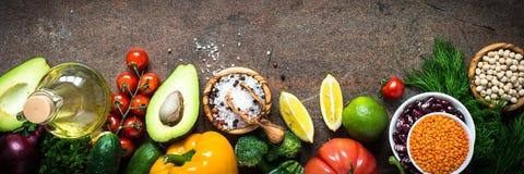 Jedzenie jarski ogórek background Obraz Stock