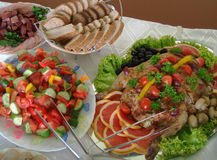 jedzenie kuchennych Zdjęcia Royalty Free