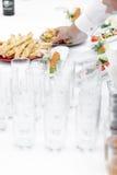 Jedzenie na bufeta stole fotografia royalty free