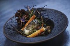 Jedzenie na talerzu fotografia stock