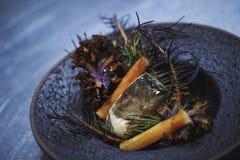 Jedzenie na talerzu zdjęcia royalty free