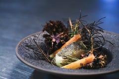 Jedzenie na talerzu fotografia royalty free